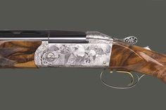 Engraving from Creative art Pistol Holster, Holsters, Clay Pigeon Shooting, Skeet Shooting, Sporting Clays, Firearms, Shotguns, Hunting Rifles, Really Cool Stuff