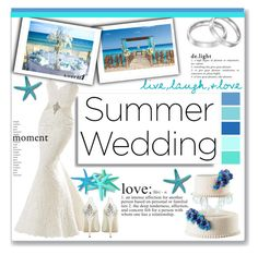 """Summer Wedding"" by keri-cruz ❤ liked on Polyvore featuring HARRIET WILDE, WALL and summerwedding"