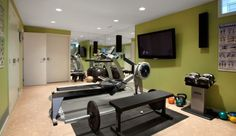 Designing a Custom Home Gym.  Read the blog for things to consider when planning a new home gym.
