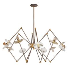"""LB-71"" by Lou Blass A Designers Original Custom-Made in Steel and Brass 
