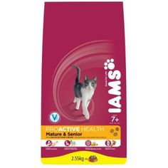 Animalerie  Croquettes iams chat mature senior sac 255 kg