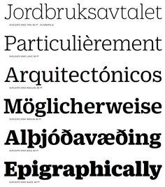 Strong serifs - Duplicate Ionic
