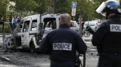 French police injured in Molotov cocktail attack