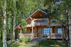 Cabin/Bungalow cabin-outdoor-dreaming