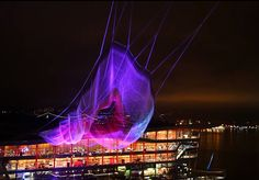Incredible 'Unnumbered Sparks' Sculpture Floats in the Skies Above Vancouver
