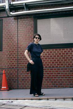 [Street Style] Kikuno   NYLON BLOGGER, Graphic Designer   Harajuku  (Tokyo)