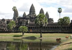 Angkor Wat Temple in Siem Reap Cambodia