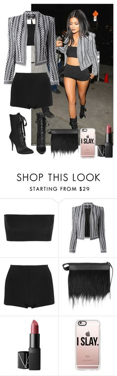 """Uber Everywhere-with them Kylie Jenner lips"" by nasza100 ❤ liked on Polyvore featuring beauty, Balmain, Giuseppe Zanotti, 3.1 Phillip Lim, NARS Cosmetics and Casetify"