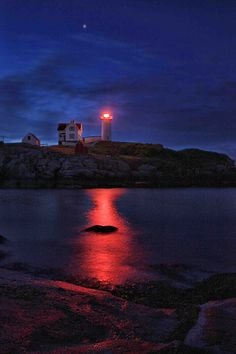 Nubble Light, Maine. We were there once. I would really like to go back again.