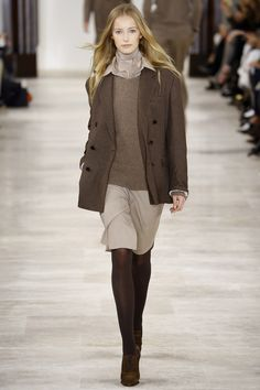 Ralph Lauren Fall 2016 Ready-to-Wear Fashion Show - Natalie Ludwig