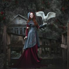 Russian Fairy Tales Translated into Fashion-Forward Portraits Photographer Margarita Kareva