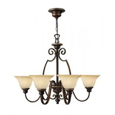 Hinkley Lighting Cello Six Light Chandelier from £314.09 with FREE delivery!