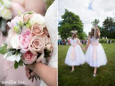 Kirstin and Jason's outdoor wedding at the 1812 Farm in Bristol, Maine