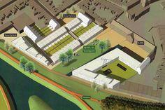 bebouwingsvoorstel stedelijke site