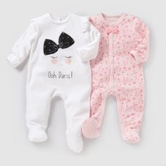 Velvet Pyjamas Set) 0 Monate bis 3 Jahre alt R baby - Pyjamas, Unterwäsche - Trendy Baby Clothes, Baby & Toddler Clothing, Toddler Outfits, Baby Girl Pajamas, Baby Girl Newborn, Baby Boy, Baby Girl Toys, Outfits Niños, Kids Outfits