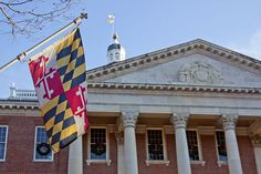 Maryland State House building in Annapolis.