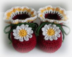 slippers, baby shoes, gift ideas, handmade , crochet , by TinasHandicraftGr on Etsy