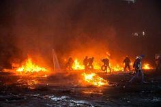 #Kiev, ancora morti nei duri scontri tra polizia e manifestanti