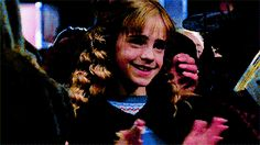 mcmartin: hermione granger in every movie Harry Potter and the...