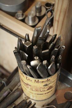 A few hand tools I've made // Jakob Faram // #jewelrymaking