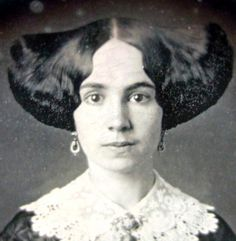 EXTREME DAGUERROTYPE HAIR STYLES (1850s-1870s) - http://www.inspirefirst.com/2012/07/20/extreme-daguerrotype-hair-styles-1850s1870s/