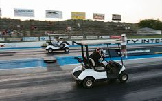 Racing Golf Cart