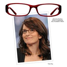 7796b0cc43d Tina Fey has turned the smart spec look into a trend with her iconic TV  characters