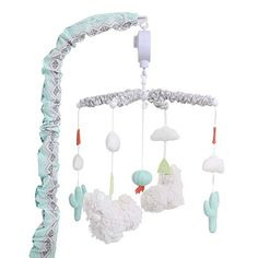 Shop for Little Llama Musical Mobile by The Peanutshell. Get free delivery On EVERYTHING* Overstock - Your Online Nursery Decor Shop! Musical Crib Mobile, Modern Crib, Portable Crib, Crib Rail, Mini Crib, Convertible Crib, Crib Bedding, Baby Cribs, Bedding Collections