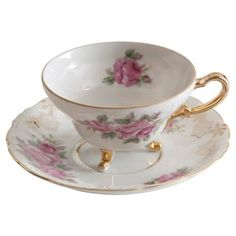 Check out this item at One Kings Lane! Yada China Cup & Saucer
