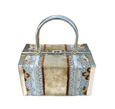 Borsa Bella Handbag Made in Italy Brocade Carpet by zephyrvintage