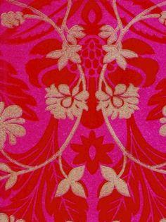 Image result for harlequin wallpaper, fuscia pink