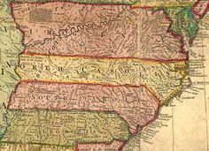 early eastern nc indians | North Carolina, South Carolina, Virginia, &c, ca 1763 , a Map, (253k)