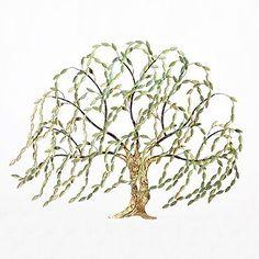 Springtime Willow Tree Wall Art