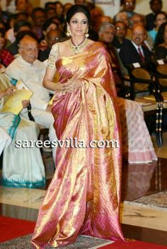 Sridevi Saree | ... silk saree are one of the finest silk sarees available in india