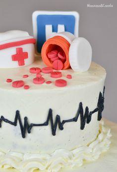 Tarta para una enfermera. Nurse cake