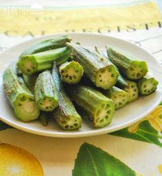 Roasted okra...Roasting in a hot oven also helps to get rid of the typical okra sliminess.