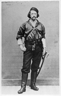 Gustavus von Tempsky    http://bowieknifefightsfighters.blogspot.com/2011/04/bowie-knife-fighter-gustavus-von.html  http://en.wikipedia.org/wiki/Gustavus_von_Tempsky