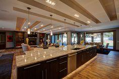 Parade Home Winner Cambria Quartz Countertops In Kitchen By Billings Marble Granite