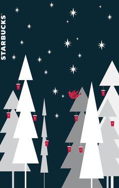 Starbucks Christmas, Christmas Love, Beautiful Christmas, Christmas And New Year, Merry Christmas, Xmas, Christmas Trees, Coffee Wallpaper Iphone, Free Phone Wallpaper