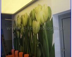 Oświetlenie LED korytarza, sufit napinany - zdjęcie od SUFITYNAPINANE.EU