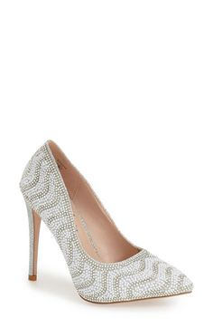 Lauren Lorraine 'Sasha' Embellished Pump (Women) available at #Nordstrom