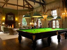 You can sneak off to a special screening in the private cinema or test your skills at the full-sized Snooker table.