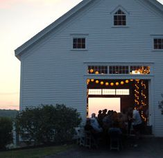 Barns on the Maine Landscape | The Black Tie Company - Maine's Wedding, Event Caterer and Event Designers