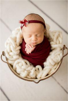 Newborn girl in burgundy wrap captured by Idalia Photography Newborns Toddler Girl Photography, Infant Photography, Photography Ideas, Newborn Pictures, Girl Pictures, Get Baby, Newborn Shoot, New Baby Girls, Sibling