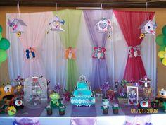 Toda a decoração festa jardim encantado para locação ou venda.Consulte  para maiores informações.