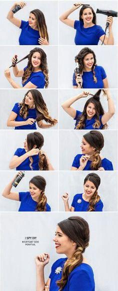 ponytail for wedding