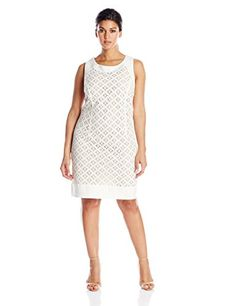 $62 Jessica Howard Women's Plus-Size Framed Lace Dress, Ivory, 18W Jessica Howard http://www.amazon.com/dp/B00R32DLI6/ref=cm_sw_r_pi_dp_gkJ5vb0D31G7W