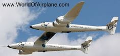 Conjoined: The four-engined, dual-fuselage Virgin Galactic Scaled Composites White Knight . Space Tourism, Space Travel, Richard Branson, Cargo Aircraft, Military Aircraft, Underwater Hotel, Airplane Design, Evolution, Knight
