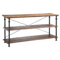 I pinned this Stein World Urban Natural Console Table from the Wonderfully Weathered event at Joss and Main!