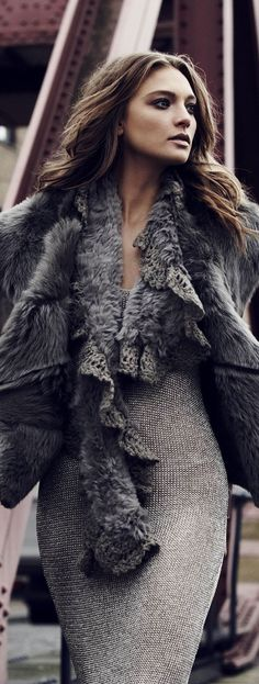 i love grey faux fur! check out my favorite show me your mumu jacket on southern elle style! http://southernellestyle.com/blogfeed/top-10-favorite-fashion-books